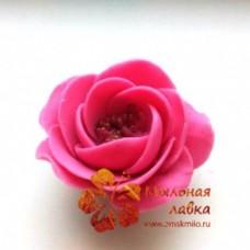 """Роза """"Скарлет"""" 3D, форма силиконовая"""
